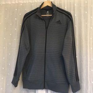 Adidas climalite full zip up jacket medium